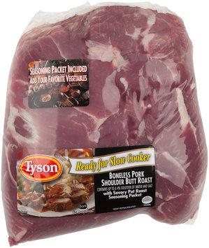 Tyson® Boneless Pork Shoulder Butt Roast with Savory Pot Roast Seasoning Packet