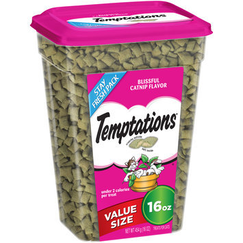Temptations® Blissful Catnip Flavor Cat Treats 16 oz. Canister