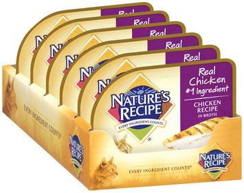Nature's Recipe® Chicken Recipe Cat Food in Broth 2.75 oz. Cup