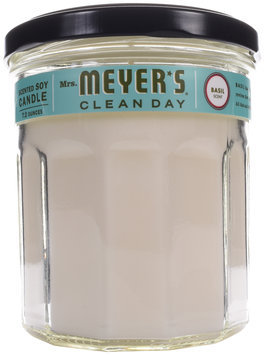 Mrs. Meyer's® Clean Day Basil Scented Large Soy Candle 7.2 oz. Jar