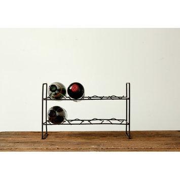 Creative Co-op Sonoma Tabletop Wine Rack