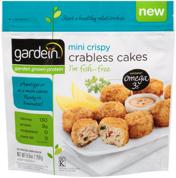 gardein™ Mini Crispy Crabless Cakes 10 ct. Bag