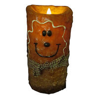 Starhollowcandleco Flameless Gingerbread Man Candle Size: 5