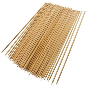GRILL PRO 100 Pack 12 Bamboo Skewers