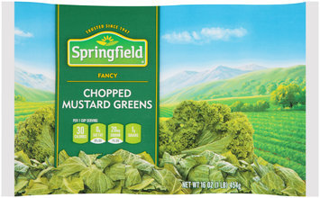 Springfield® Fancy Chopped Mustard Greens 16 oz. Bag