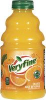 Veryfine Orange W/Other Natural Flavors Juice Beverage 32 Oz Plastic Bottle