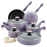 Paula Deen 15 Piece Nonstick Cookware Set Speckled - MEYER CORPORATION US-FARBERWARE DIVISION