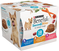 Purina Beneful IncrediBites Variety Pack Dog Food 12-3 oz. Cans
