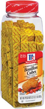 McCormick Chicken Flavored Bouillon Cubes 32 Oz Plastic Container