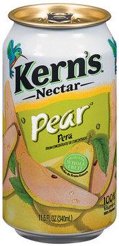 Kern's Pear Nectar 11.5 Fl Oz Can