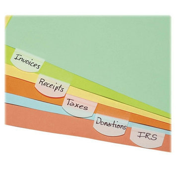 Lee Products Index Tabs and Dividers Lee Hefty Index Tabs, White