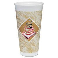 Dart Container Foam Cups Caf Design 20oz Printed