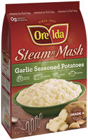Ore-Ida Garlic Seasoned Potatoes Steam N' Mash 24 Oz Bag