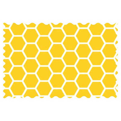 Stwd Honeycomb Fabric by the Yard Color: Lemon