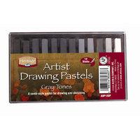Alvin & Company Alvin ADP12GP Graytone Heritage Artist Drawing Pastel - Set of 12