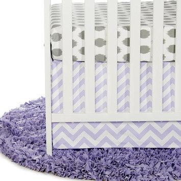 Sweet Potato By Glenna Jean Swizzle Purple 2 Piece Crib Bedding Set