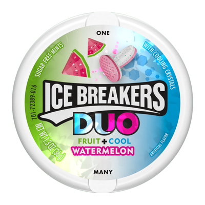 ICE BREAKERS DUO MINTS WATERMELON