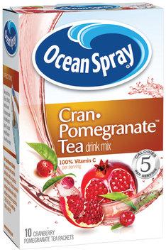 Ocean Spray® Cran-Pomegranate Tea Drink Mix Packets 10 Ct