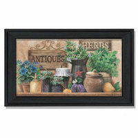 Millwork Engineering Antiques and Herbs' Framed Art