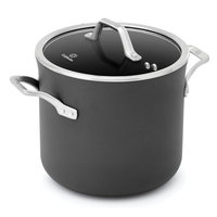 Calphalon Signature 8-qt. Hard-Anodized Nonstick Aluminum Stockpot (Gray)
