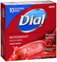 Dial® Antioxidant Power Berries Glycerin Soap 10-4 oz. Bars