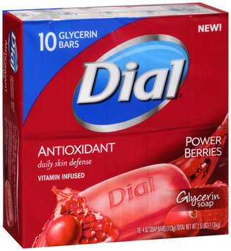 Dial® Antioxidant Glycerin Bar Soap Power Berrie