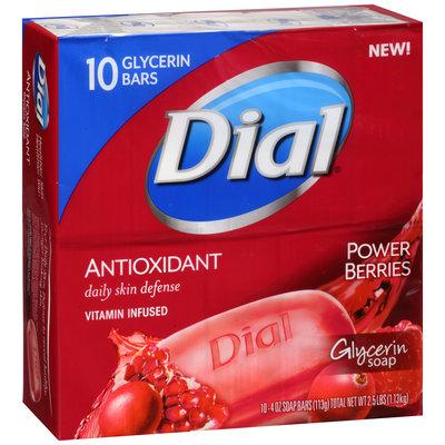 Dial® Antioxidant Glycerin Bar Soap Power Berrie