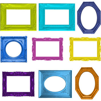 4 Walls Frame Up Wall Decal Size: Small
