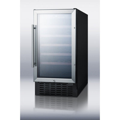 Summit Appliance Wine Cellar with Glass Door
