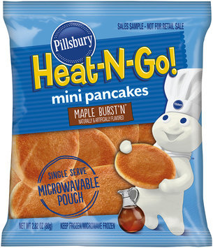 Pillsbury® Heat-N-Go! Maple Burst'n® Mini Pancakes 2.82 oz. Pouch