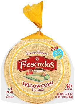 Frescados™ Yellow Corn Tortillas 27.5 oz. Bag