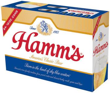 Hamm's Premium 12 Oz Cans Beer 24 Pk Suitcase