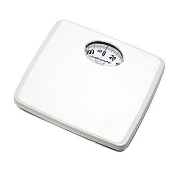 Health O Meter Square Analog Health-O-Meter Scale in White