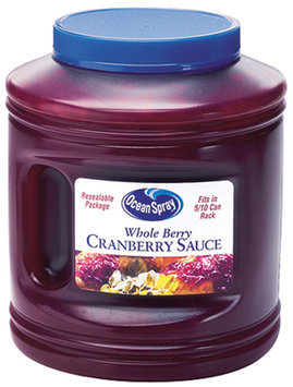 Ocean Spray Sauce Whole Berry Cranberry Sauce 101 Oz Jar