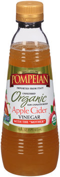 Pompeian® Organic Unfiltered Apple Cider Vinegar 16 fl. oz. Bottle