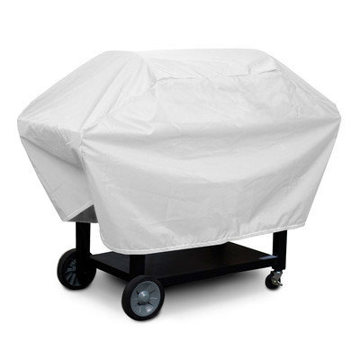 KoverRoos 13064 Weathermax X-Large Barbecue Cover No. 2 White - 23 D x 66 W x 40 H in.