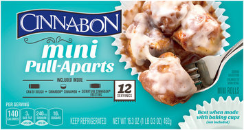 Pillsbury® Cinnabon® Mini Pull-Aparts Cinnamon Rolls 12 ct Box