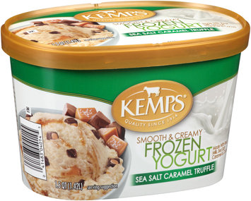 Kemps® Sea Salt Caramel Truffle Frozen Yogurt 1.5 qt. Tub
