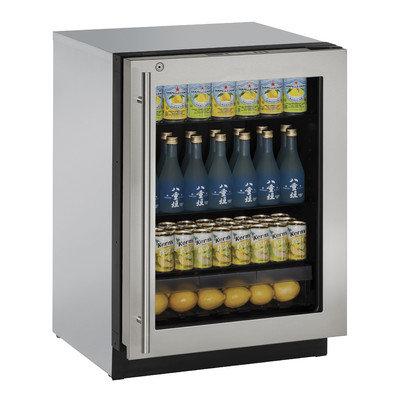 U-Line U3024RGLS01A 4.9 cu. ft. Built-in Compact Refrigerator