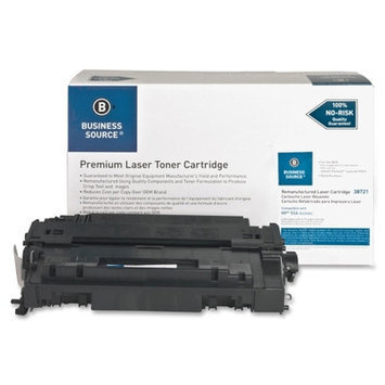 Business Source 38721 Remanufactured Laser Cartridge 6000 Page Yield Black