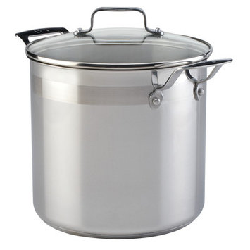 Emerilware By All Clad Emeril by All-Clad Stainless Steel 8 Qt. Covered Stockpot