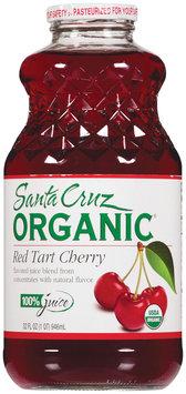 Santa Cruz Red Tart Cherry 100% Juice   Glass Bottle