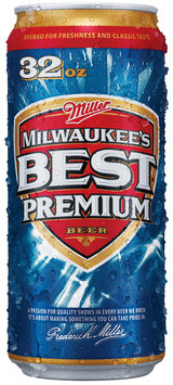 Milwaukee's Best Crusher Can Beer Primary 32 Oz Can