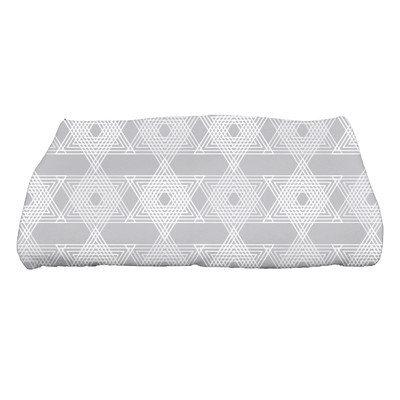 The Holiday Aisle Star Light Bath Towel Color: Gray