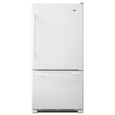 Amana 22.07 Cu. Ft. Bottom Freezer Refrigerator - White
