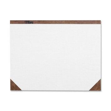 Tops Business Forms Quadrille Desk Pads, 22