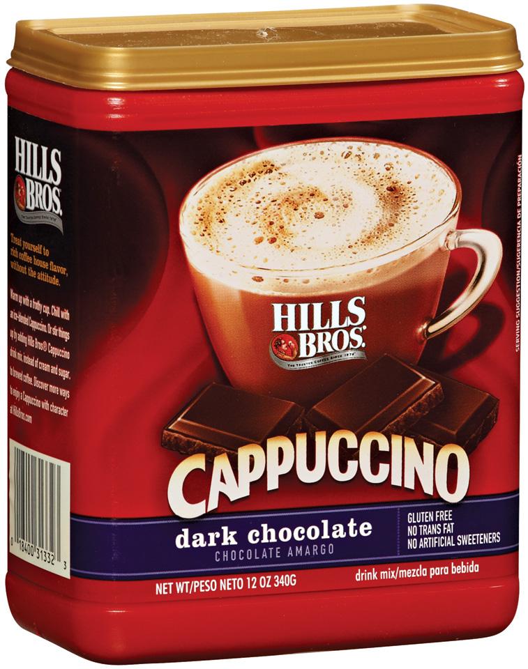 Hills Bros Dark Chocolate Cappuccino