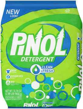 Pinol® Clean & Fresh Powder Laundry Detergent 31.74 oz. Bag