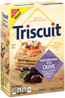 Nabisco Triscuit Mediterranean Style Olive Crackers 9 oz. Box