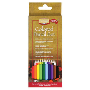 Alvin & Company Alvin and Co. Colored Pencil Set (Pack of 12)